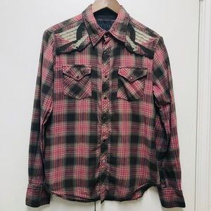 Guess women's Top Blouse size S long sleeves